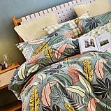 Постельное белье Семейный комплект с двумя пододеяльниками и простыню на резинке Фланелевый, фото 10
