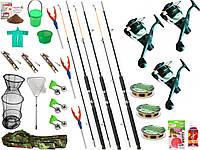 Готовый набор для рыбалки, набор рыболовных снастей, Набор рыболовный, Наборы для рыбалки, Спиннинг!