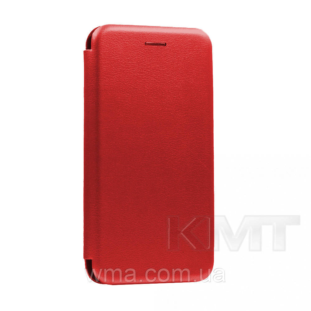 Leather Book Case — Samsung M30s 2019(M307) — Red