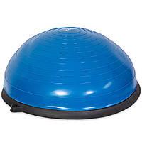 BOSU Балансировочная платформа полусфера с эспандером USA Style LEXFIT синий