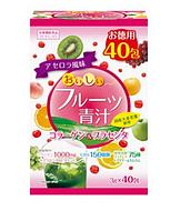 Фруктовый Аодзиру с коллагеном, плацентой, молочнокислыми бактериями и витамином С  40 пакетов