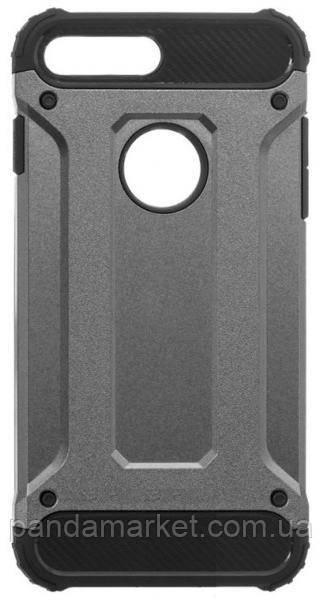 Чехол накладка Motomo X5 Apple iPhone 7 Plus, 8 Plus Серый