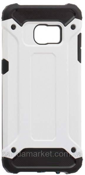 Чехол накладка Motomo X5 Samsung S7 Edge G935 Белый