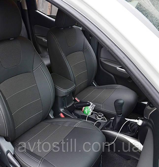 Чохли на сидіння Nissan Qashqai +2 ❘ авточохли Кашкай (2008-2014)