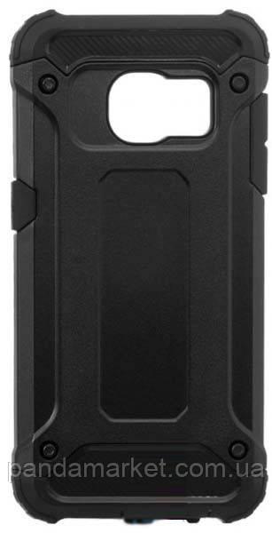 Чехол накладка Motomo X5 Samsung S7 G930 Черный