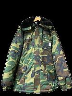 Куртка утеплена камуфльована модельне