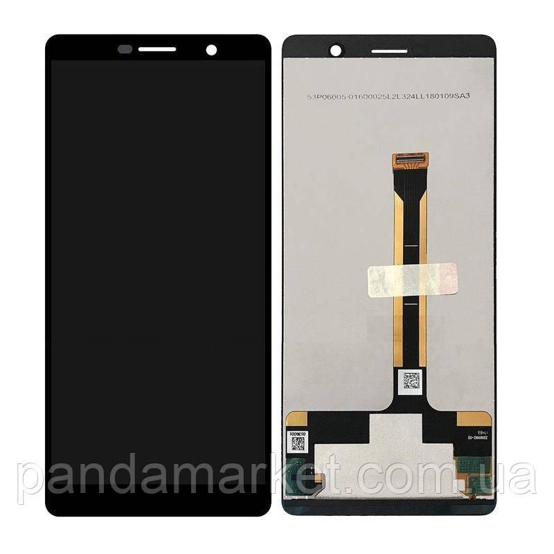 Дисплей модуль Nokia 7 Plus Dual Sim Черный
