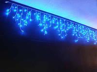Гирлянда бахрома уличная 100 LED 5м синяя, фото 1