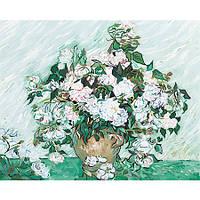 Картина Ваза с розами. Ван Гог