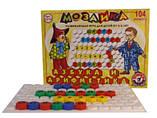 Развивающая игра мозаика азбука для самых маленьких малышей Технок с русскими буквами и цифрами 2087, фото 4