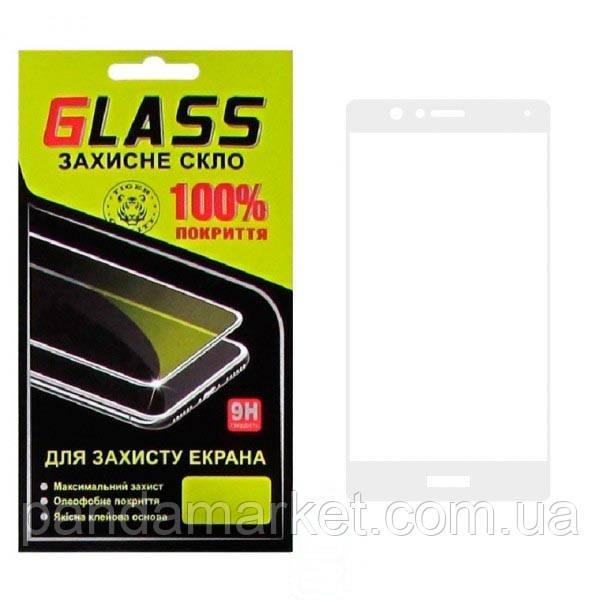 Защитное стекло 2.5D Huawei P9 Lite Белый Glass