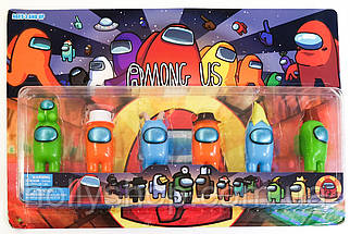 Набір фігурок Among Us з гри амонг ас