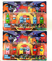 Набір фігурок Among Us з гри амонг ас, фото 2