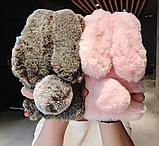 Чехол кролик плюшевый с ушками для Huawei Honor 8X, фото 2