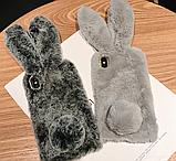 Чехол кролик плюшевый с ушками для Huawei Honor 8X, фото 10