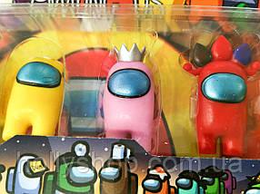 Набір фігурок Among Us з гри амонг ас, фото 3