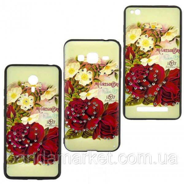 Чехол накладка Flower Case Apple iPhone 6 Mc.Gregor Rose