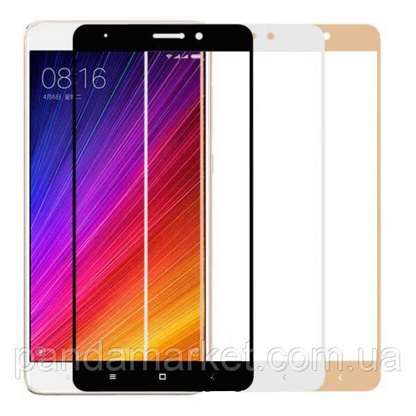 Защитное стекло 2.5D Xiaomi Redmi Mi5S Plus Черный