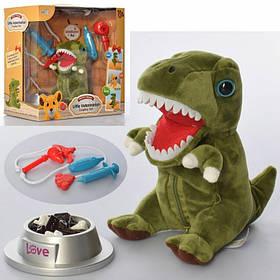Динозавр (15 см.) набор ветеринара, Звук. В кор-ке