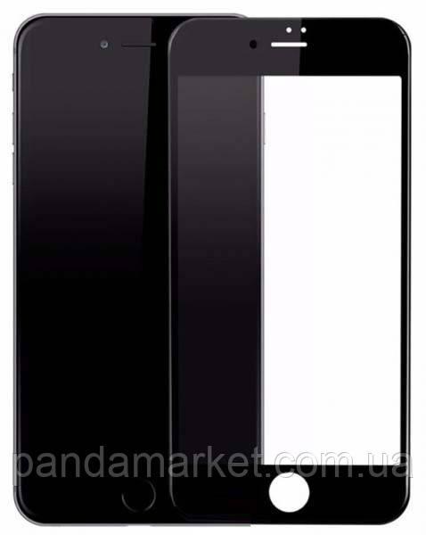 Защитное стекло 3D Apple iPhone 7, iPhone 8 Черный