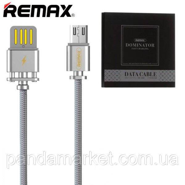 Кабель micro-USB Remax Dominator RC-064m micro-USB Серый