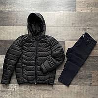 Комплект мужской Джинсы мужские + Куртка демисезонная Casual | Костюм повседневный весенний осенний Премиум