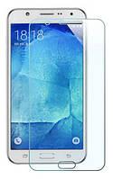 Захисне скло 2.5D Samsung J700 J7 (0.3mm, 2.5D, з олеофобним покриттям)