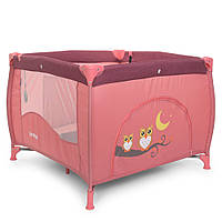 Детский манеж-кроватка EL Camino ARENA ME 1030  Rose Len, фото 1