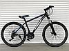 Двухколесный горный спортивный велосипед 26 дюйма Toprider WOLF синий