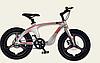 Двоколісний спортивний магнієвий велосипед 20 дюймів з литими дисками M20301 золотий