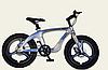 Двоколісний спортивний магнієвий велосипед 20 дюймів з литими дисками M20302 срібло