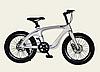 Двоколісний спортивний магнієвий велосипед 20 дюймів з колесами, спиці M20411 сірий