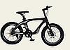 Двоколісний спортивний магнієвий велосипед 20 дюймів з колесами, спиці M20412 чорний