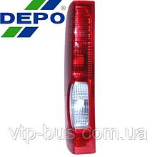 Задний фонарь, левый на Renault Trafic (2006-2014) DEPO (Тайвань) 551-1974L-UE