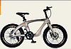 Двоколісний спортивний магнієвий велосипед 20 дюймів з колесами, спиці M20410 золотий