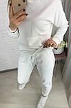 Базовый женский спортивный костюм из трехнитки пенье 26-935, фото 10