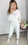 Базовый женский спортивный костюм из трехнитки пенье 26-935, фото 5