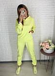 Базовый женский спортивный костюм из трехнитки пенье 26-935, фото 9