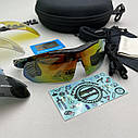 Велоочки, очки для велосипедиста, очки для езды на велосипеде, очки с сменными линзами, фото 2