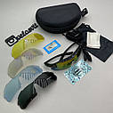 Велоокуляри, окуляри для велосипедиста, окуляри для їзди на велосипеді, окуляри із змінними лінзами, фото 4