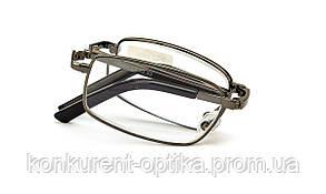 Имидживые складные очки для зрения Черный