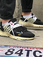 Мужские кроссовки Nike Air Presto Off White (Черный). [Размеры в наличии: 40,41,42,43,44], фото 1
