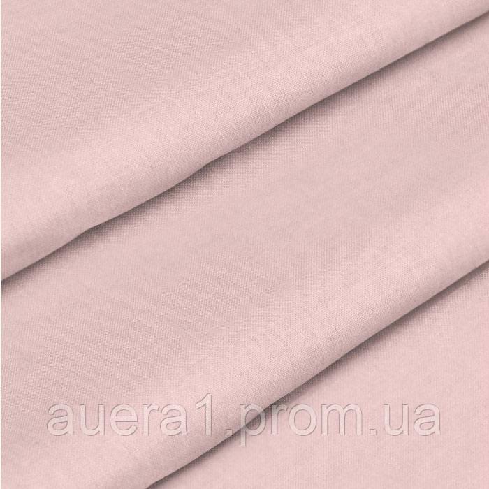 Тканина для постільної білизни з ранфорс 218486 65V пудра 240м однотонна 130 плтн Selonya Туреччина