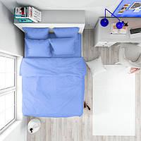 Ткань для постельного белья ранфорс 211390V голубой 2 240м однотонная 130 плтн Napolyon Турция