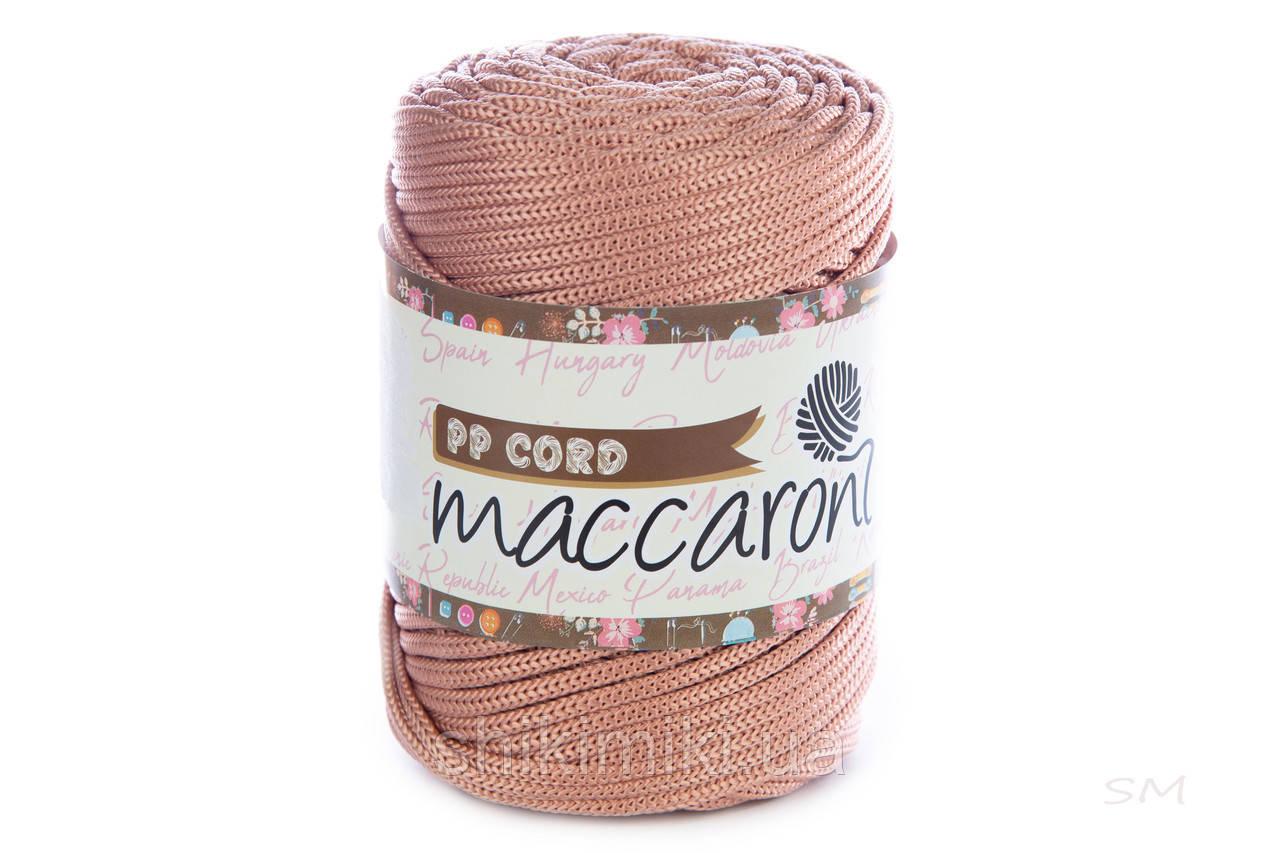 Трикотажный полипропиленовый шнур PP Cord 5 mm, цвет Чайная роза
