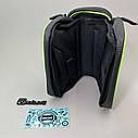 Велосумка под телефон, сумка на раму велосипеда, сумка под телефон, фото 6