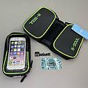 Велосумка під телефон, сумка на раму велосипеда, сумка під телефон, фото 3