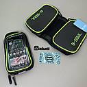 Велосумка під телефон, сумка на раму велосипеда, сумка під телефон, фото 7