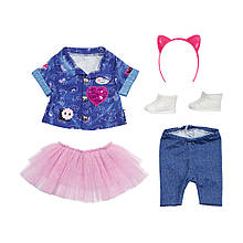 Одяг для ляльки Джинсовий люкс Zapf Creation 829110