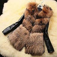 Женский полушубок, меховая куртка, модель 0347